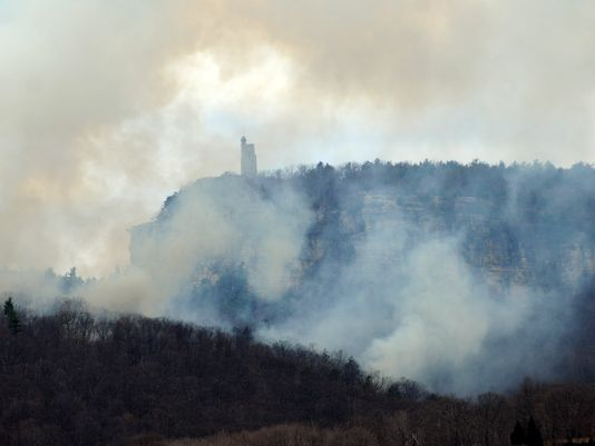 Prescribed Burn planned Tuesday at the Mohonk Preserve