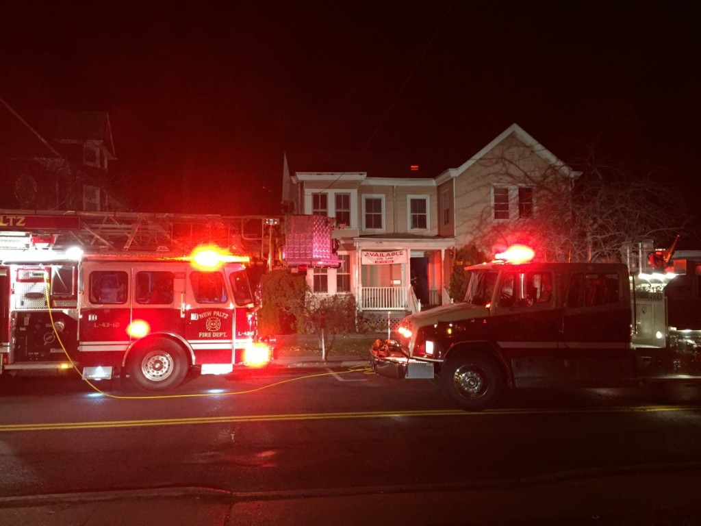 NPFD Responds to an Attic/Roof Fire in the Village